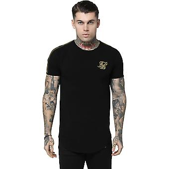 Sik Silk Gold Edit Runner Gym T-Shirt Black 09