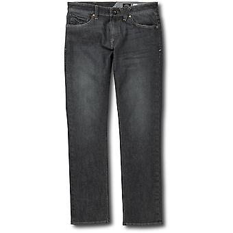 Volcom Vorta Slim Fit jeans i Bullet Grey Wash