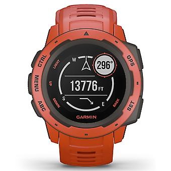 Garmin 010-02064-02 instinct GPS Flame Red SmartWatch