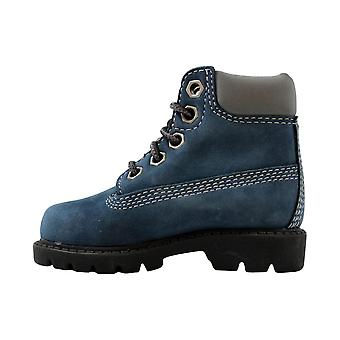 Timberland Classic 6 Inch Boot China Blue/Nubuck 11800 Toddler