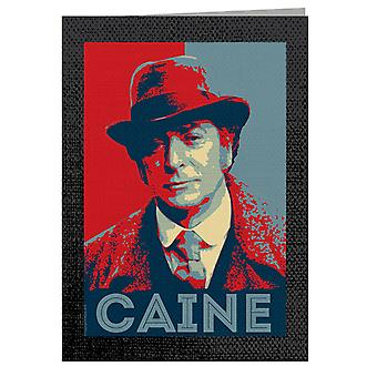 TV Times Michael Caine In Jack The Ripper Greeting Card
