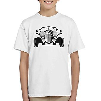 Citro�n Vintage Traction Sketch Kid's T-Shirt