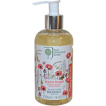 Die Royal Horticultural Society Mohn Wiese Hand Wash 250ml