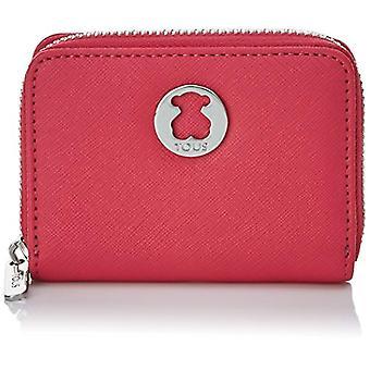 Tous Monedero Dubai Saffiano - Multicolored Women's Wallet (Tri/Fuchsia)