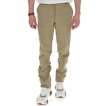 Thom Browne Mtu187a03788275 Men's Beige Cotton Pants