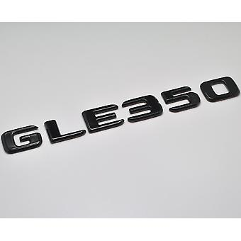Gloss Black GLE350 Flat Mercedes Benz Car Model Numbers Letters Badge Emblem For GLE Class W166 C292 AMG