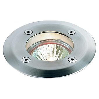 Firstlight Compress Modern Stainless Steel Ground Light