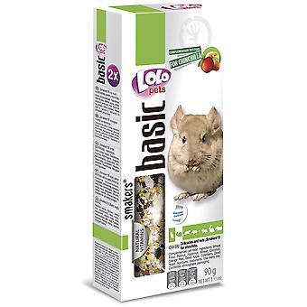 Lolo Lolo 2 Barritas Fru-Nuec90 Grs Chinch (Small pets , Treats)