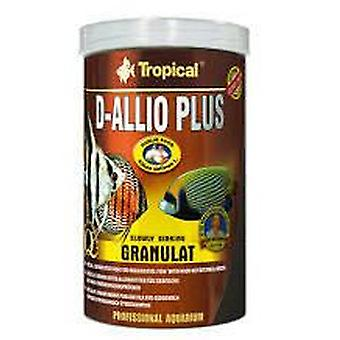 Tropical D-Allio Plus Granulated 100 Ml (Fish , Food , Warm Water)