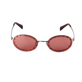 Valentino VA2027 300684 51 Oval Sunglasses