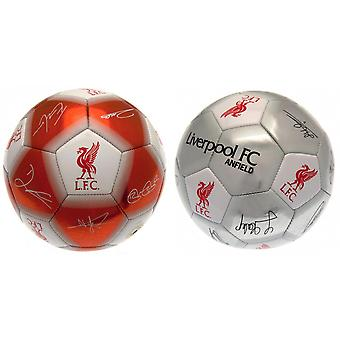 Liverpool FC Signature officielle Football