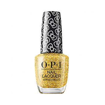 OPI Hello Kitty 2019 Christmas Nail Polish Collection Glitter All The Way (HRL12) 15ml