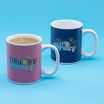 Tamagotchi Glossario calore calore sensibile colore cambiando tazza - ideale per il caffè o tè