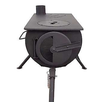 Outbacker® portable wood burning stove - glass door