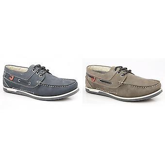 Роумеров Мужская кожа 3 обувь ушко лодка