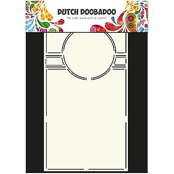 Olandese Doobadoo Dutch Card Art Stencil Swing cirkle 29x14,5mm 470.713.301