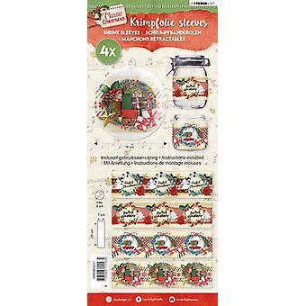 Studio Light shrink foil 260x70 mm Classic Christmas nr 57 SHRINKSL57