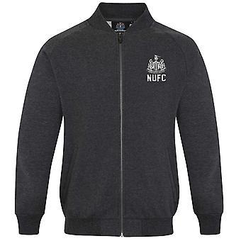 Newcastle United FC Official Football Gift Mens Retro Varsity Baseball Jacket