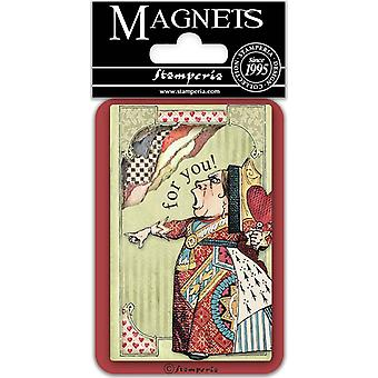 Stamperia King of Hearts 8x5.5cm Magnet