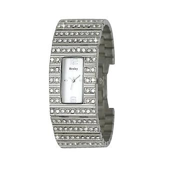 Henley Glamour Ladies Super Bling Silver Tone Watch