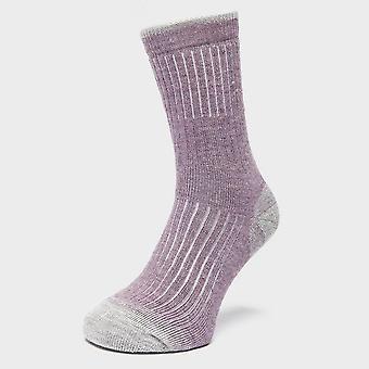 New Brasher Women's Trekker Socks Purple