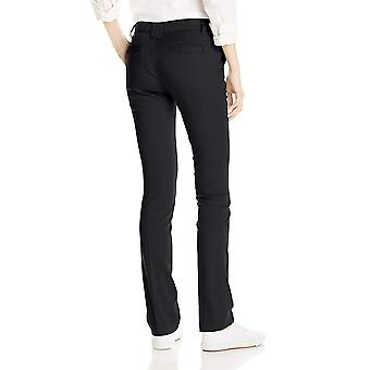 Dickies Juniors Slim Straight Stretch Pant, Black, 9