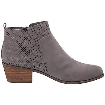 Dr. Scholl's Womens Brianna Suede Almond Toe Ankle Fashion Boots