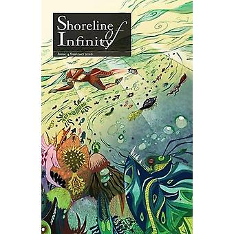 Shoreline of Infinity 4 Science Fiction Magazine by Chidwick & Noel