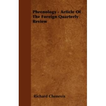 Phrenology  Article Of The Foreign Quarterly Review by Chenevix & Richard
