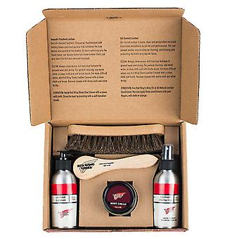 Red Wing Smooth Finished Leather Gift Box Boots Shoes Gift Set