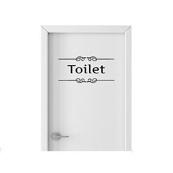Wall décor | Toilet plate | Toilet | 27 x 14 cm