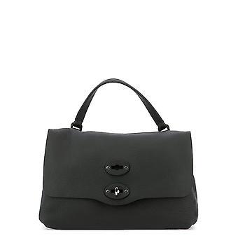 Zanellato 6802p602 Women's Black Leather Handbag
