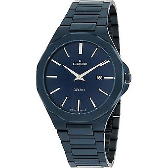 Edox - Wristwatch - Men - 71289 37BUM BUIN - Dolphin