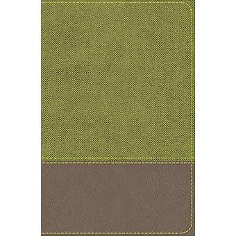 KJV Studie Bibeln för Pojkar Olive / Brown LeatherTouch av Larry Richards -