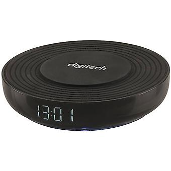 Digitech Digitech Digital Alarm Clock et Fast Qi Wireless Charger