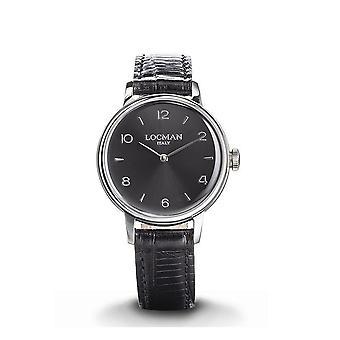 LOCMAN - Wristwatch - Ladies - 0253A01A-00BKNK2PK - 1960 LADY ONLY TIME QUARTZ
