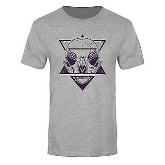 Onorthodoxe collectieve mens stellaire schedel Premium T-shirt