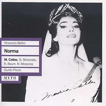 Bellini / Callas - Norma: Callas-Simionato-Baum [CD] USA import