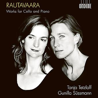 Rautavaara / Sussmann - Works for Cello & Piano [CD] USA import