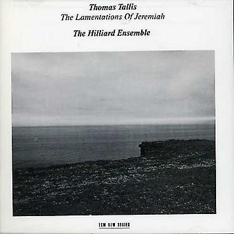 T. Tallis - Tallis: Lamentations of Jeremiah [CD] USA import