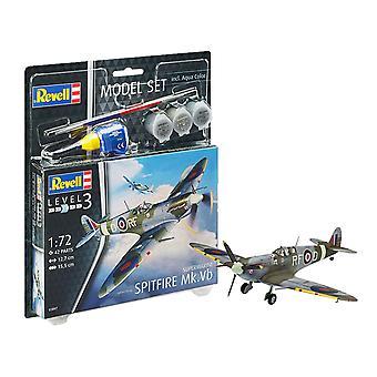 Revell 63897 Supermarine Spitfire Mk. Vb 1:72 Kit modèle en plastique