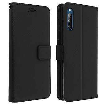 Protective Case for Sony Xperia L4 Folio with Video support - Black