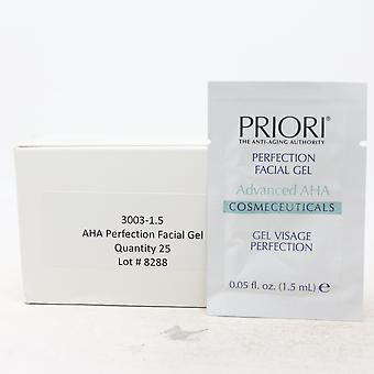 Priori Perfection Facial Gel Pack Of 25  / New