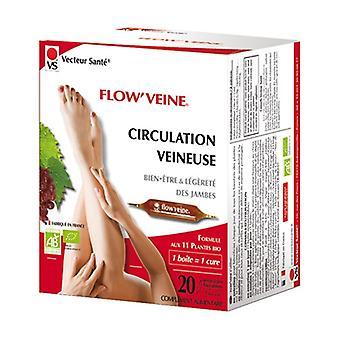 Flow'veine venous circulation 20 ampoules