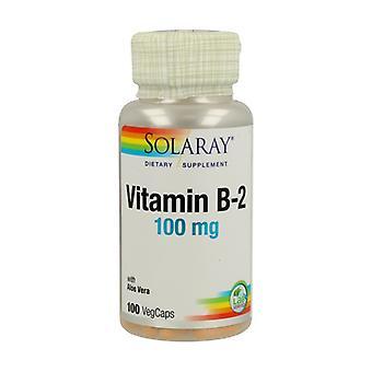 Vitamin B-2 100 vegetable capsules of 100mg