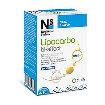 Lipocarbo bi-effect 60 tablets