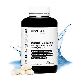 Marine collagen with hyaluronic acid 180 capsules