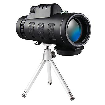 10x60 Telescope - monocular binoculars with stand and mobile phone holder