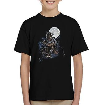 Alchemy Chained Werewolf Kid's T-Shirt
