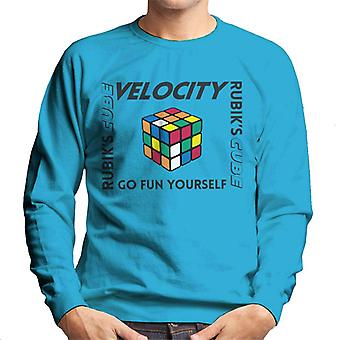 Rubik ' s go Fun zelf mannen ' s Sweatshirt